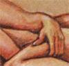 Spooning thumb