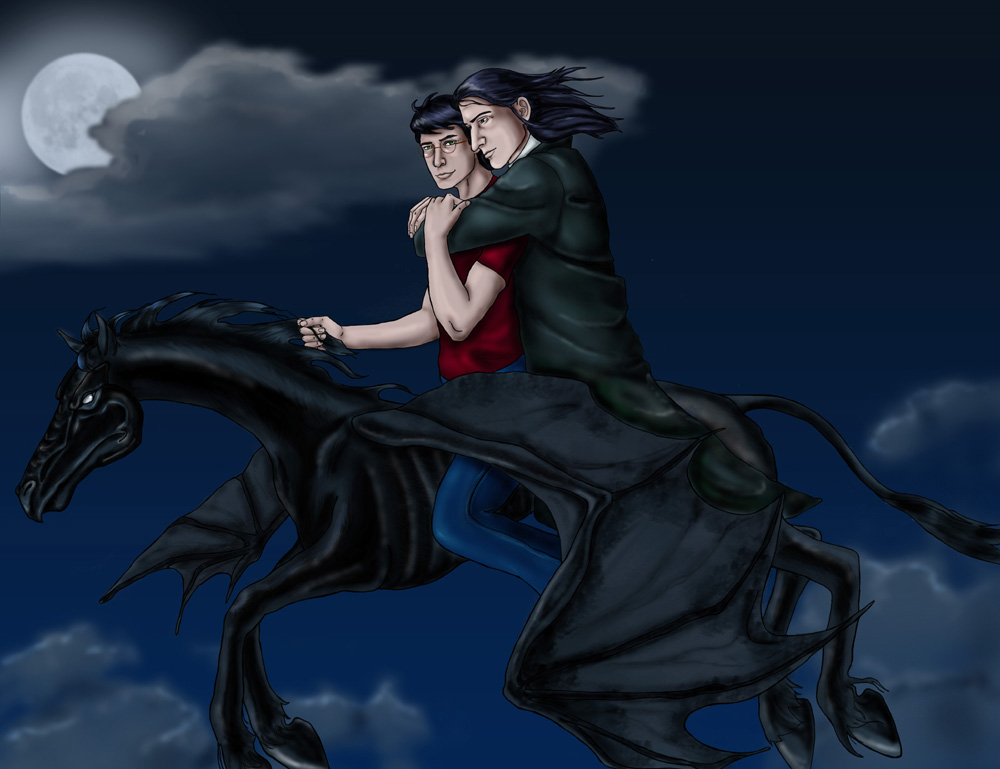 Thestral Flying